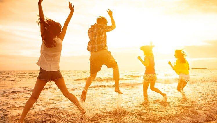 Cinco maneiras para ficar mais feliz...