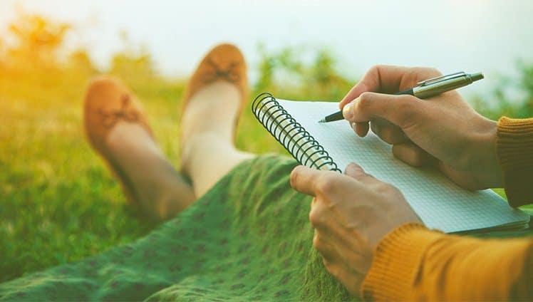 O Caderno de Gratidão