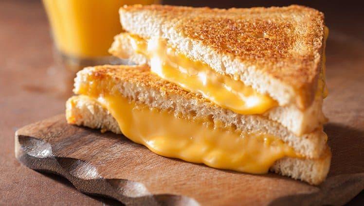 Pão com queijo. O que isso tem a ver com a sua vida