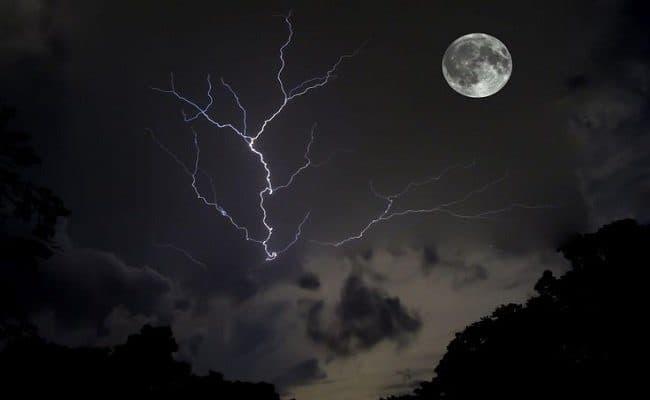 lua cheia do trovão