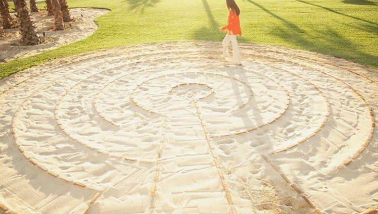 O significado espiritual de um labirinto