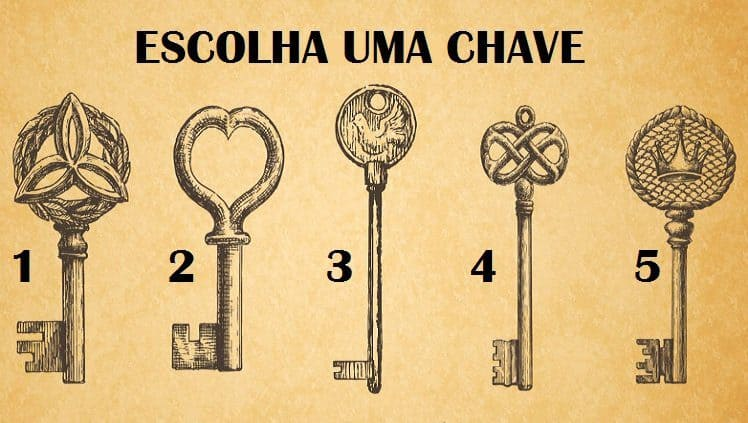 escolha uma chave