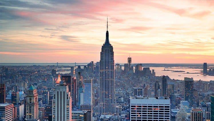 A viagem dos sonhos new york site