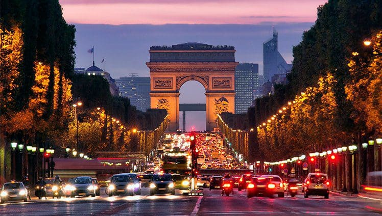 A viagem dos sonhos paris site