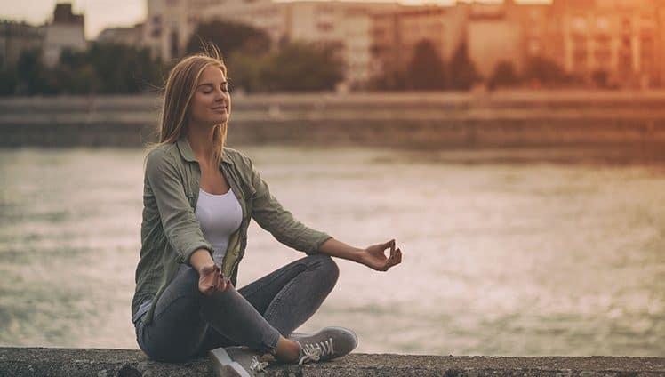 O que aprendi meditando site