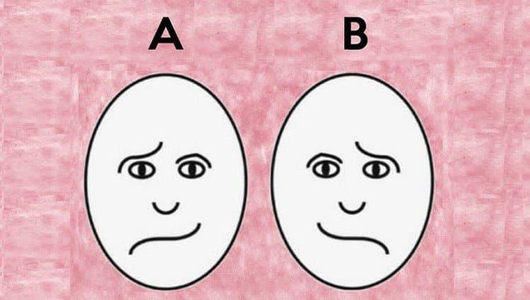 qual desses rostos é o mais