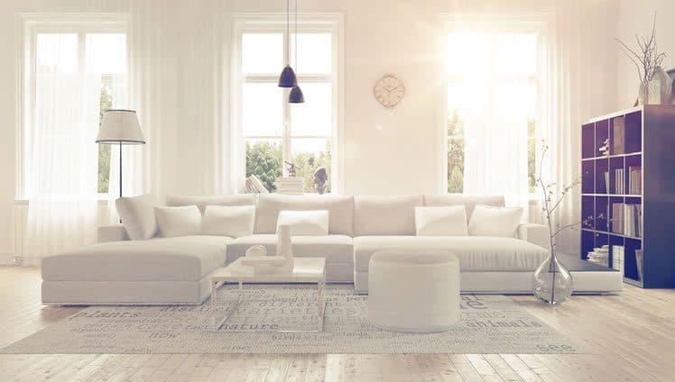 casa simples e organizada