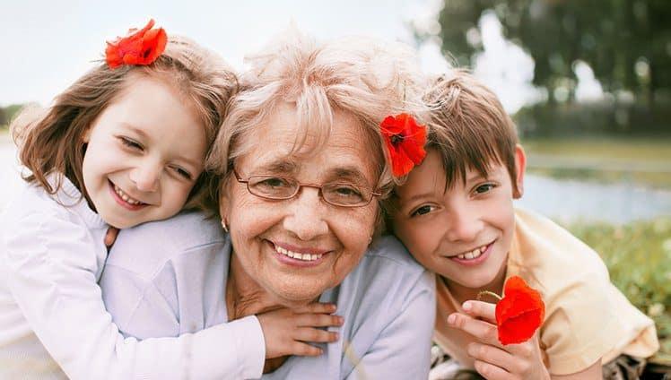 carinho pelos avós