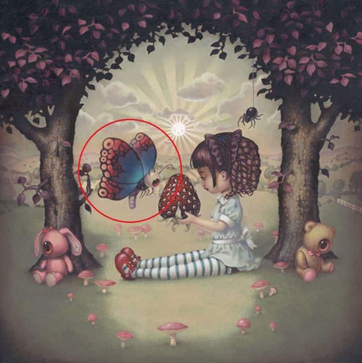 teste o seu maior medo foto borboleta