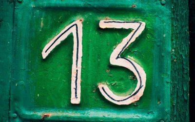 o poder e a magia do número 13