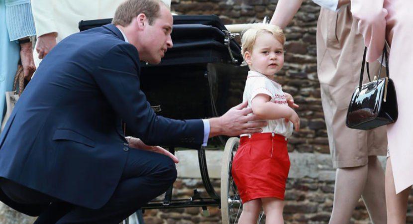 Por que o príncipe William