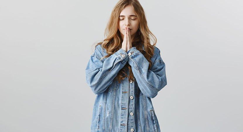 ao falar com Deus