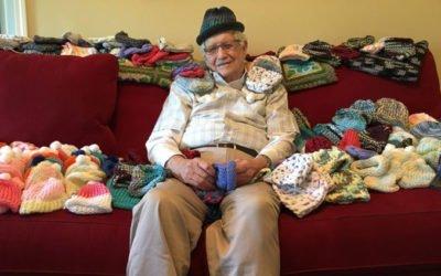 senhor de 86 anos