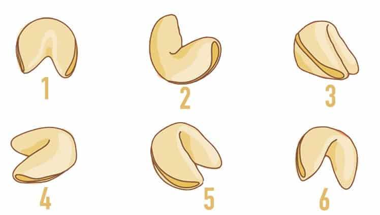 Escolha um biscoito