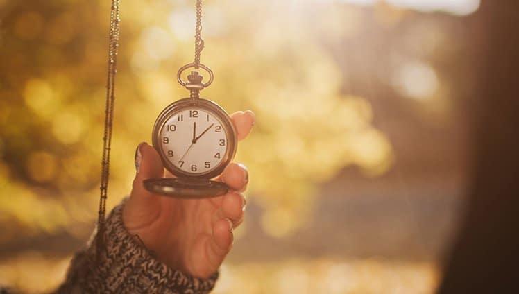 O tempo serve para amadurecer