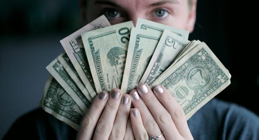 o dinheiro