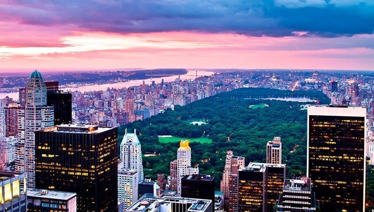 tres lugares nova york