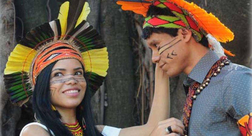 índios pataxó se formam