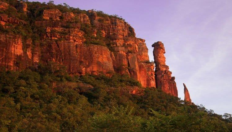 5 lugares no Brasil3 e CAPA