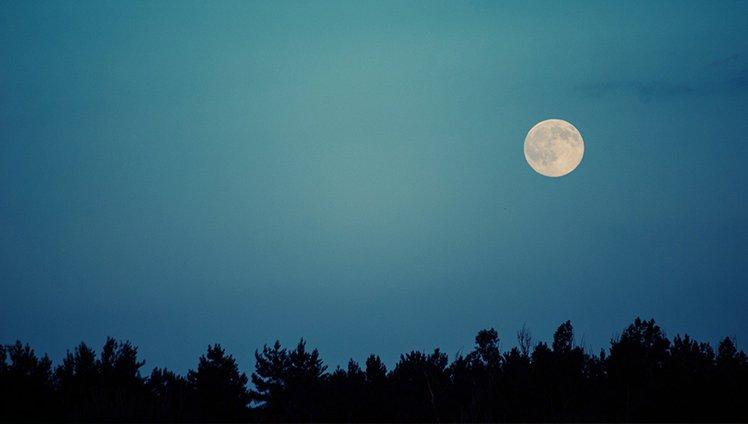 o poder da lua cheia