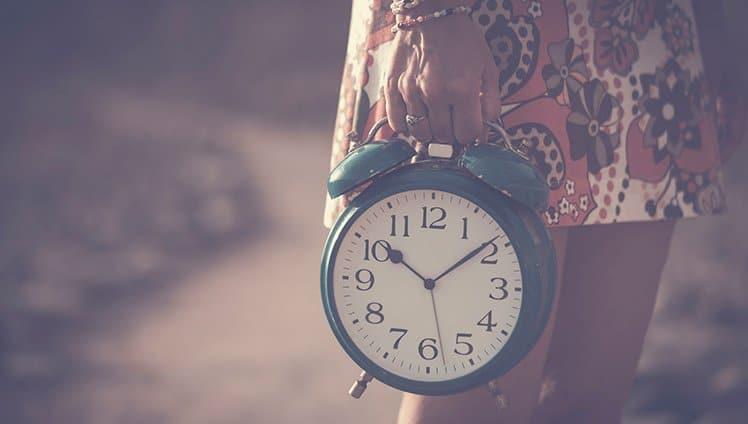 o tempo pode ser