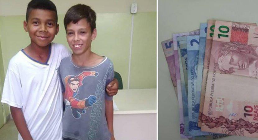 aluno usa dinheiro