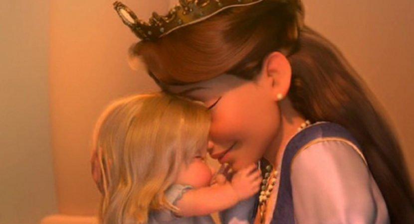 """Beijo de mãe pode """"curar"""""""