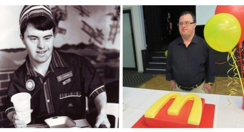 funcionário do McDonald