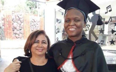 haitiana cega que sobreviveu