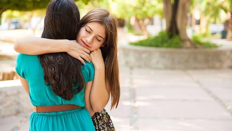 a amizade acalma
