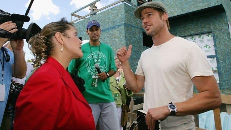 Brad Pitt constrói 109 casas para pessoas carentes