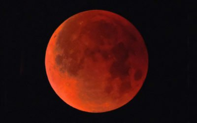 eclipse lunar e superlua