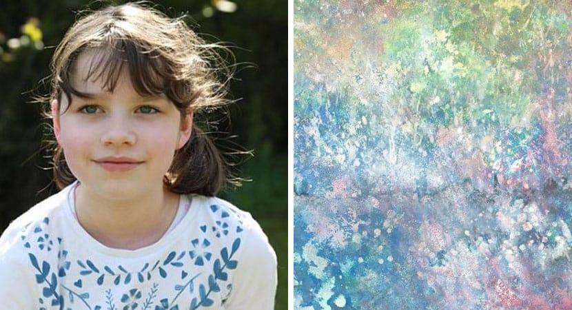 Menina autista de 5 anos encanta o mundo com a sua arte