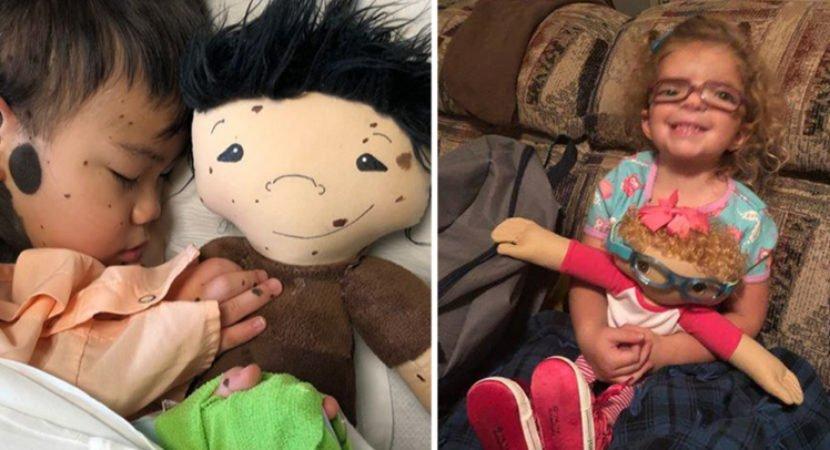 artista cria bonecas