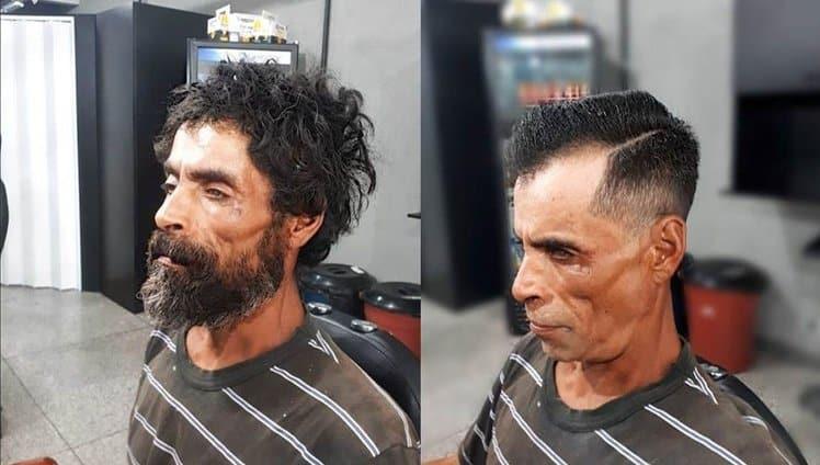 barbeiro transforma morador