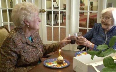 elas são amigas há 84 anos