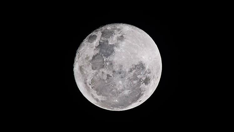 lua de neve