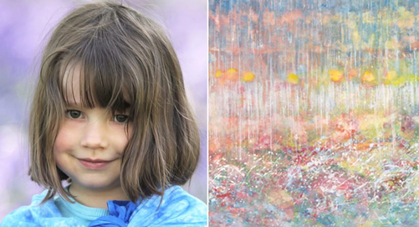 menina autista de 5 anos