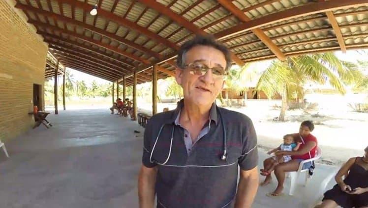 pediatra constrói posto de saúde