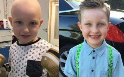 menino é curado de câncer