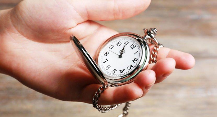 Você conta o tempo