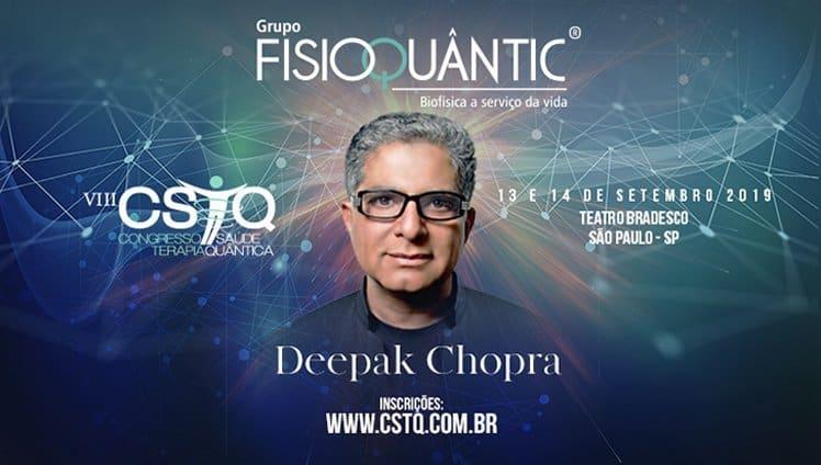 Deepak Chopra no Brasil
