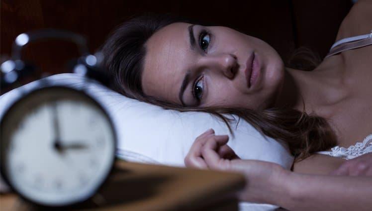 você dorme pouco