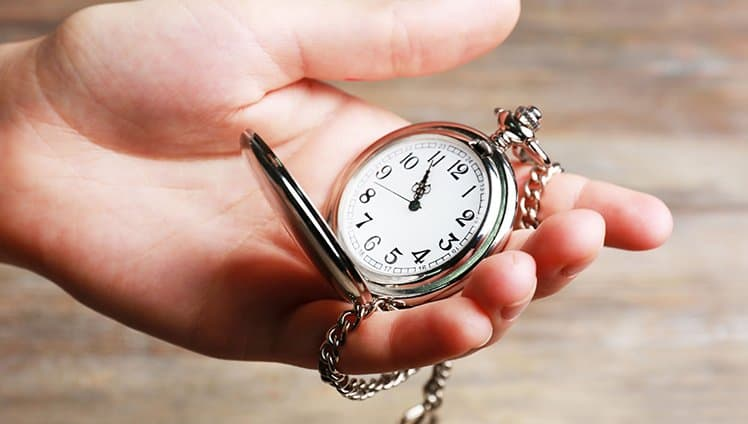 Se você acredita que vive sem tempo