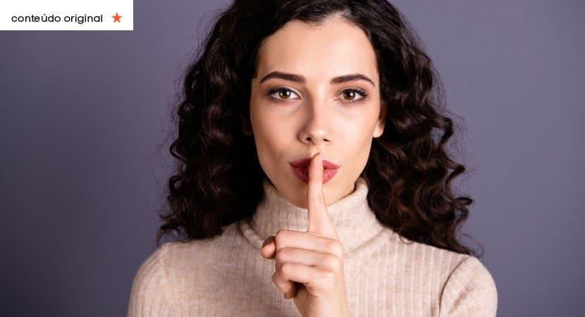 há muitos momentos da vida em que o silêncio é a resposta mais sábia