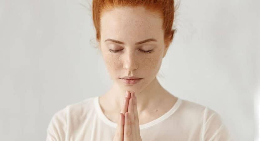 uma oração feita com o coração