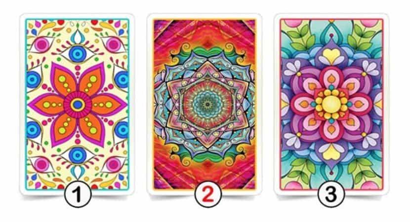 escolha uma das 3 cartas 1