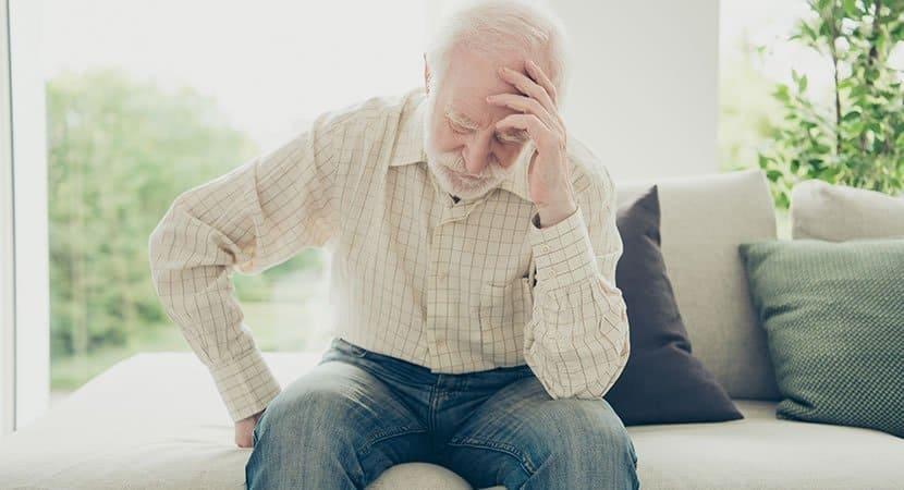 a velhice e a depressão