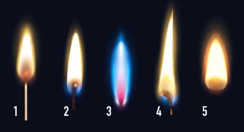 escolha uma das chamas 1