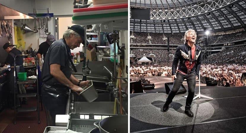 Bon Jovi lava